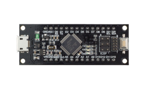 SAMD21 M0-Mini. 32-bit ARM Cortex M0 core