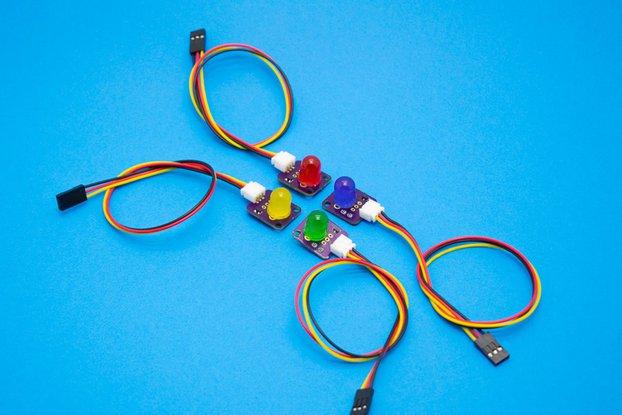 Frizzy LED Atom