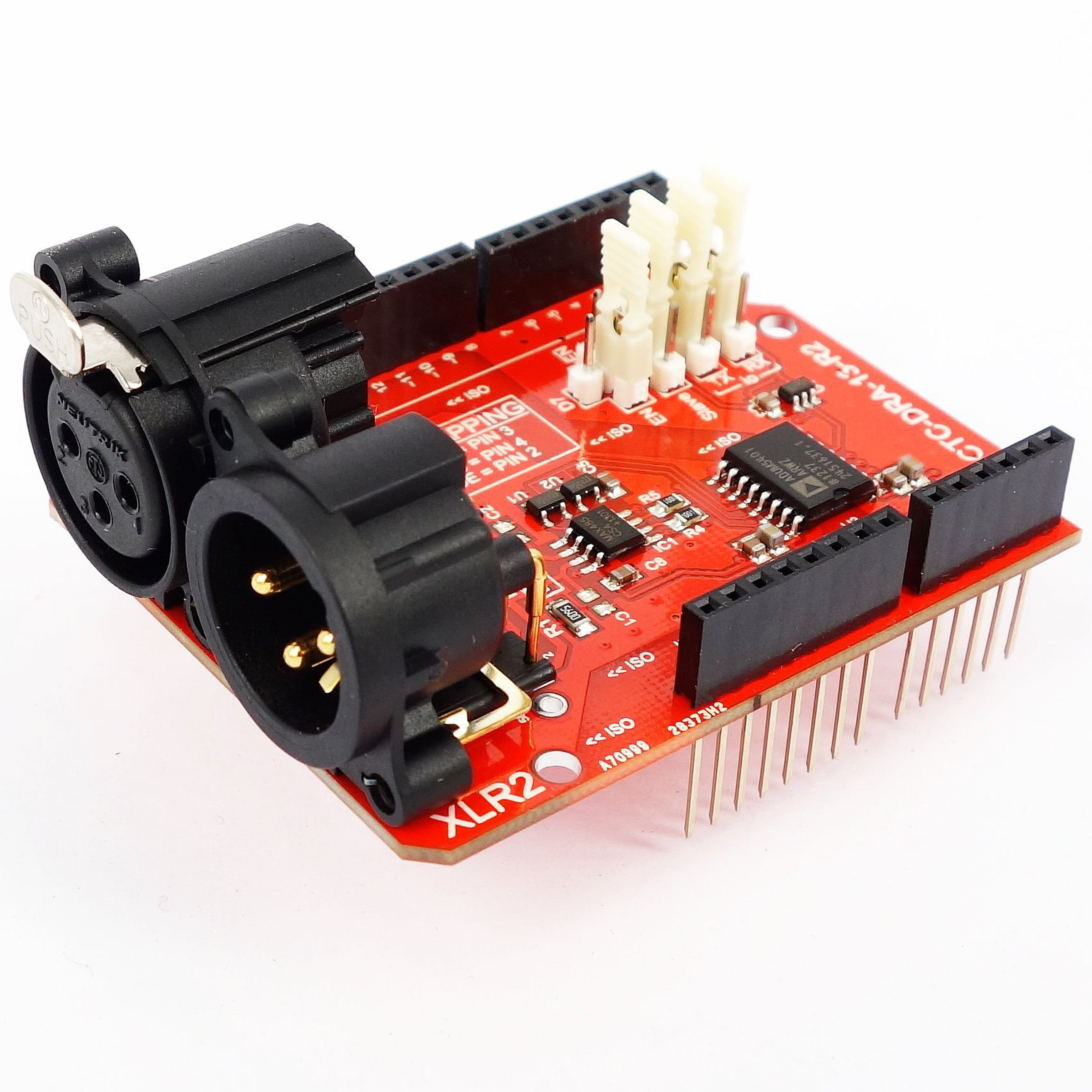 25kv Isolated Dmx 512 Shield For Arduino R2 From Conceptinetics Real Time Clock Schematic 1