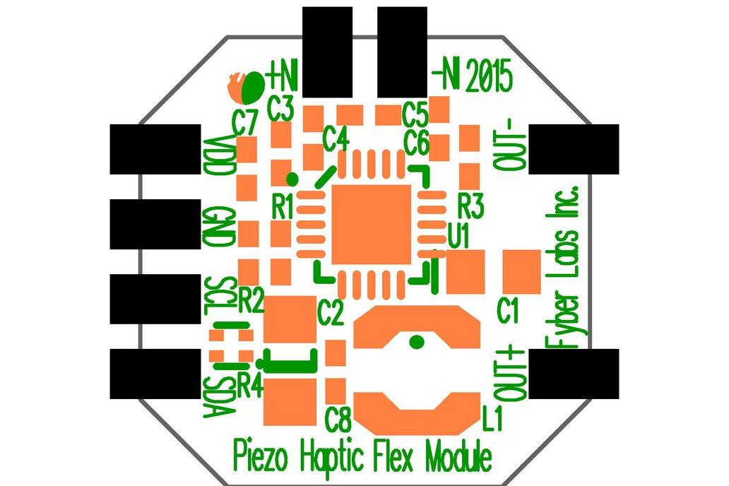 Piezo Haptic Flex Module 3