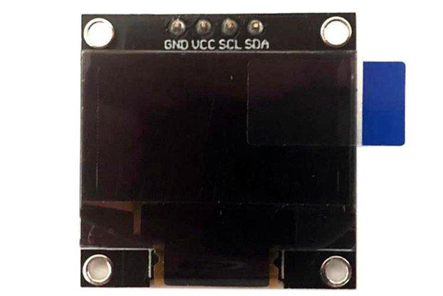 0.96 inch 128*64 OLED 4 Pin SPI IIC SSD1306 Blue