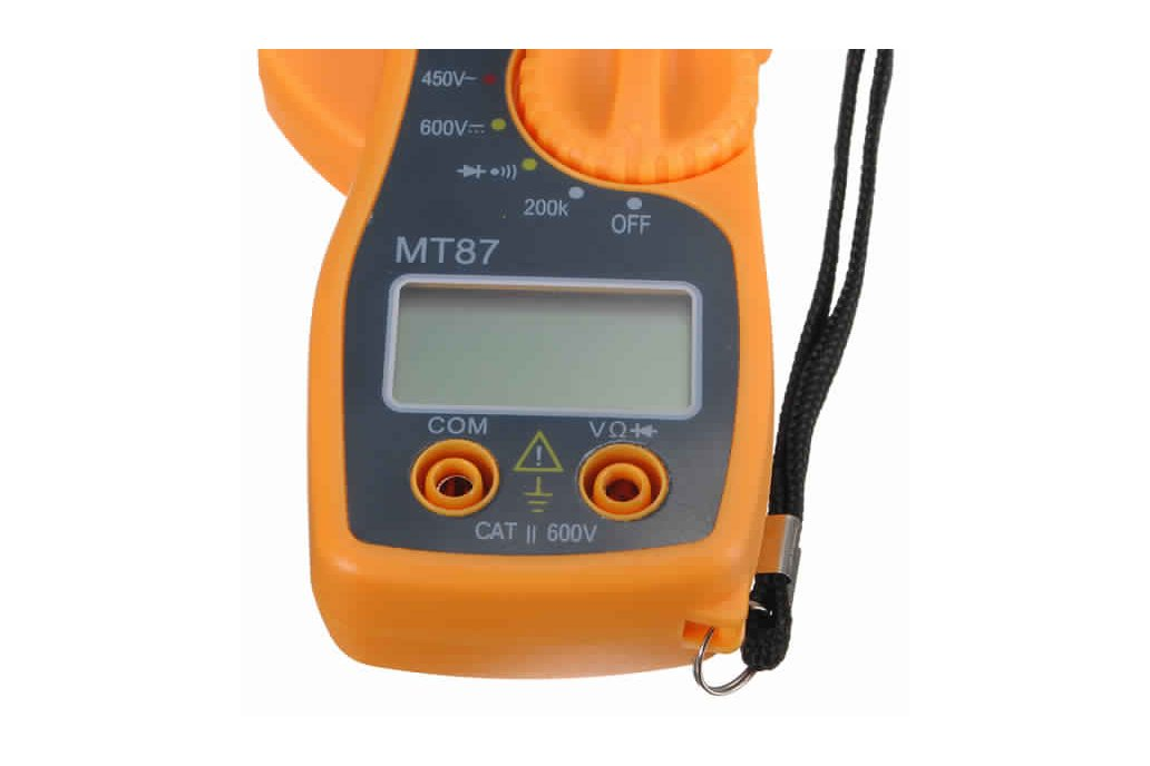 Digital Clamping Type Multimeter Tester 4