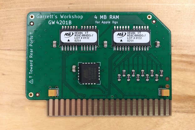 4 Mbyte RAM Expansion GW4201B for Apple IIgs