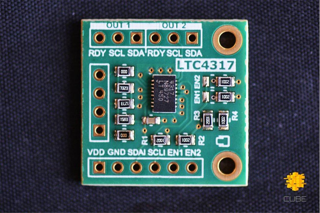 LTC4317 Dual I2C/SMBus Hardware Address Translator 1