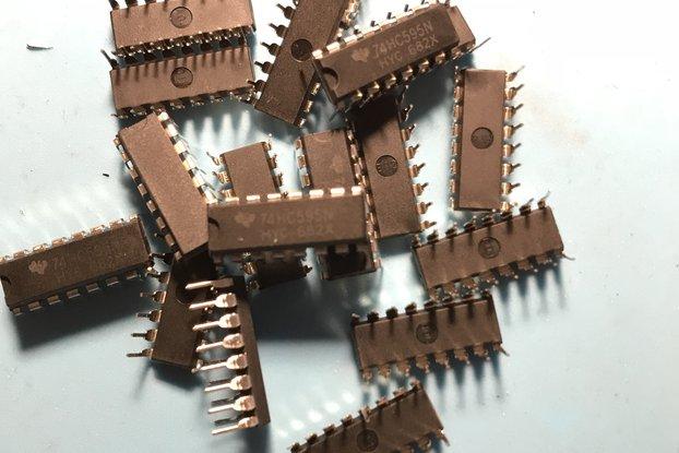 10 Pieces Of 8 Bit Shift Register SN74HC595