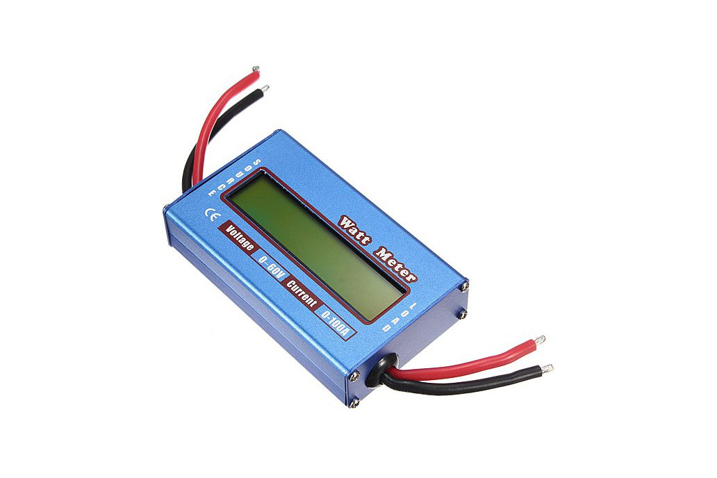 Digital LCD Voltage Power Display 1