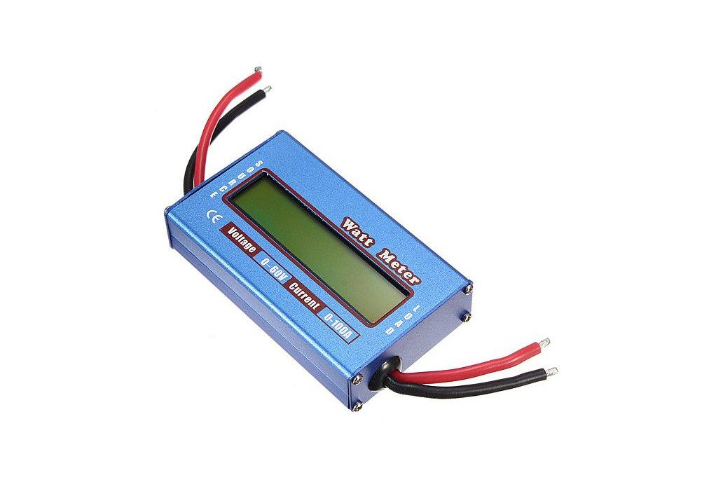 Digital LCD Voltage Power Display 1
