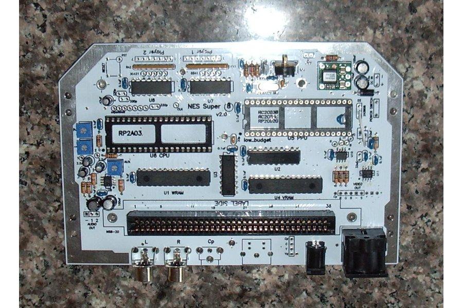 NES Super 8 v2.0 Game Console PCB