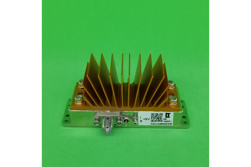 Power Amplifier 4W 5150 to 5925 MHz 33dB Gain 35dB 1