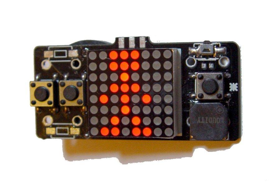 LSP64 - LED 8x8 matrix handheld retro Game console
