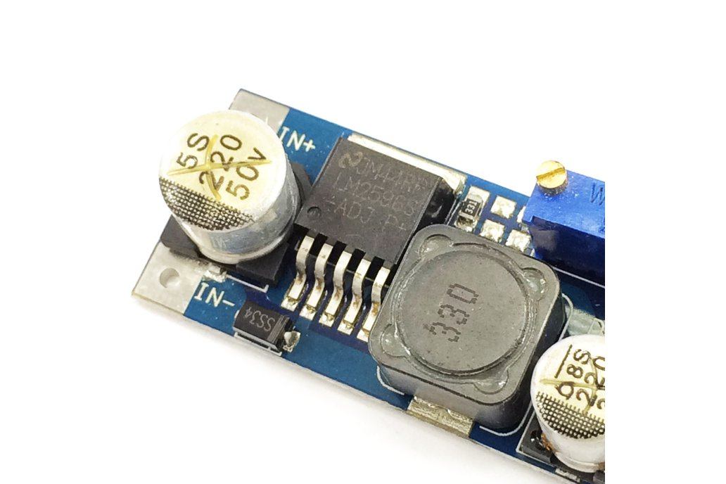 LM2596S Mini DC-DC buck step-down module 3