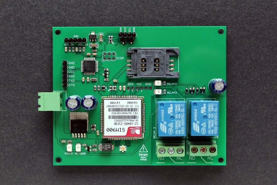 GSM Multi Switch - mobile phone relay remote ctrl