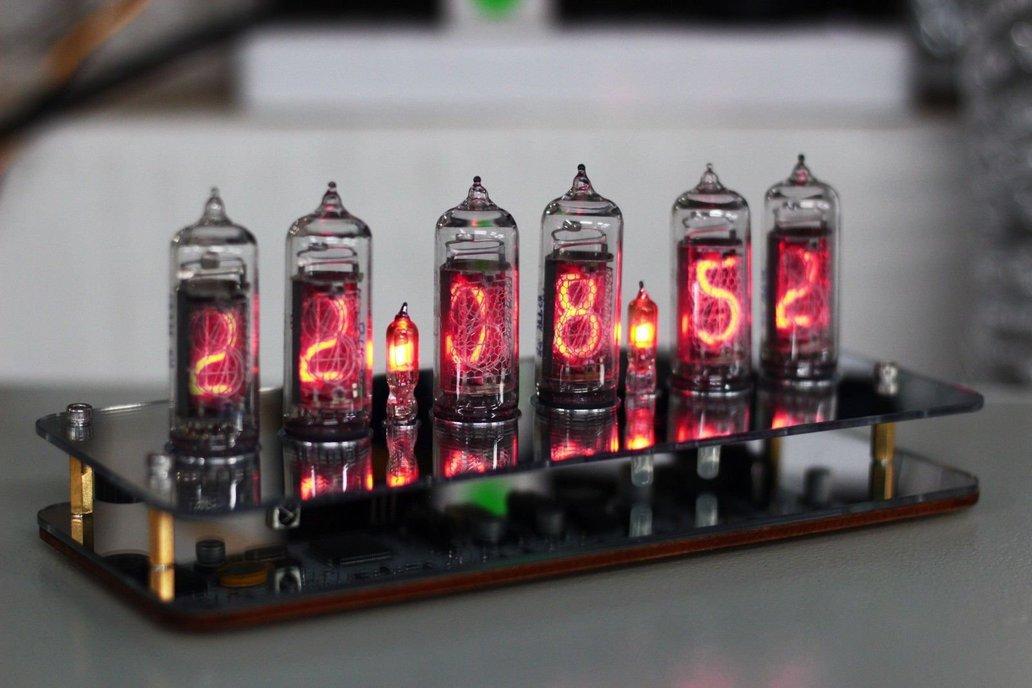 No Tube Diy Kit - NIXT CLOCK IN14 Nixie Tube Clock 1