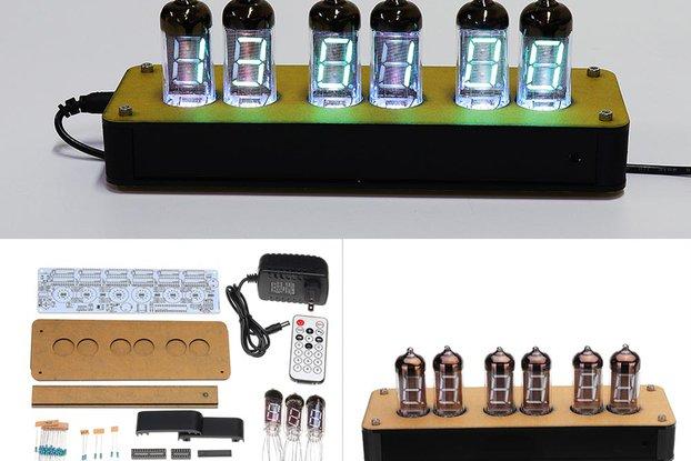 DIY NB-11 Fluorescent Tube Clock IV-11 Kit VFD