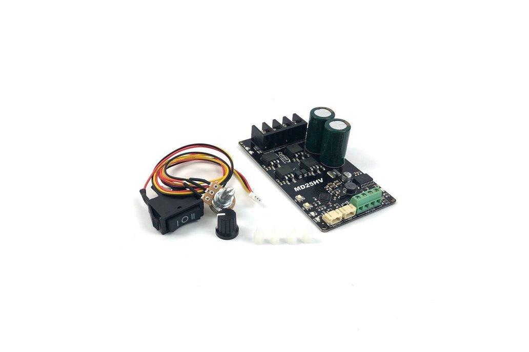 25Amp 7V-58V High Voltage DC Motor Driver 1