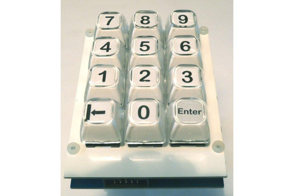 Customizable Keyboard shield with long stroke keys 1