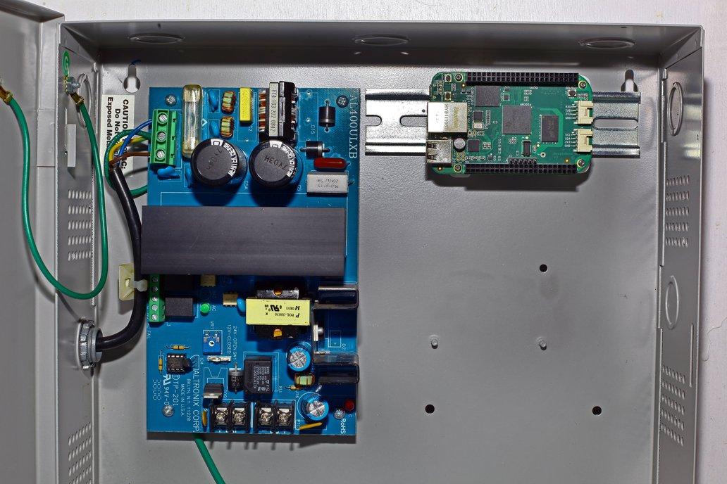 BeagleBone to DIN Rail, 3D Printed 6
