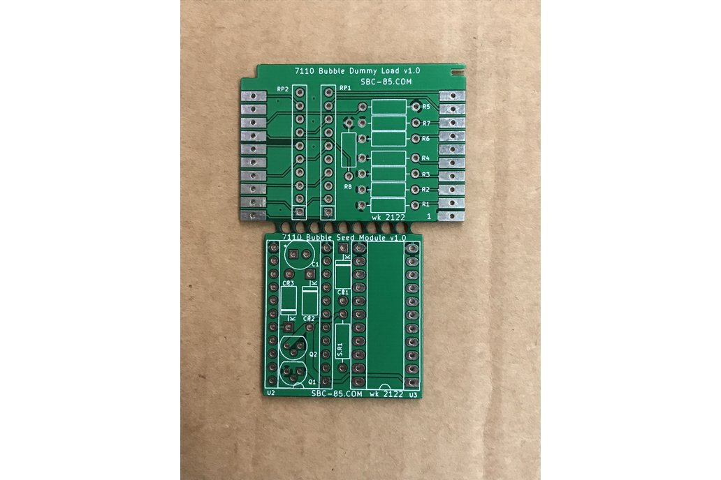 Magnetic Bubble Support PCB 1