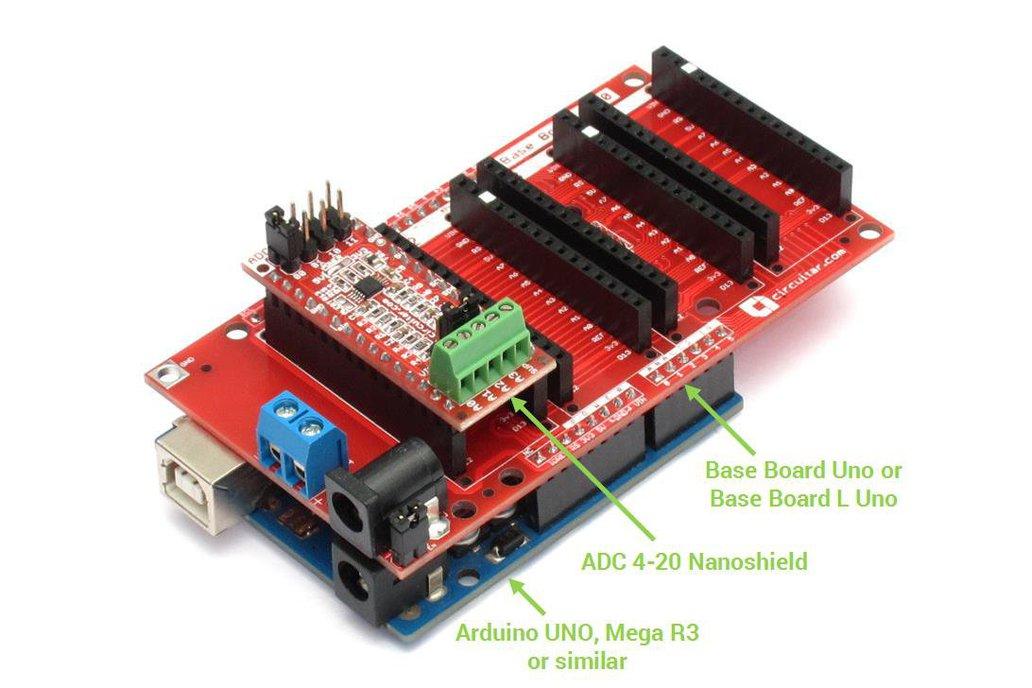 ADC 4-20 Nanoshield - ADS1115 for 4-20mA sensors 2