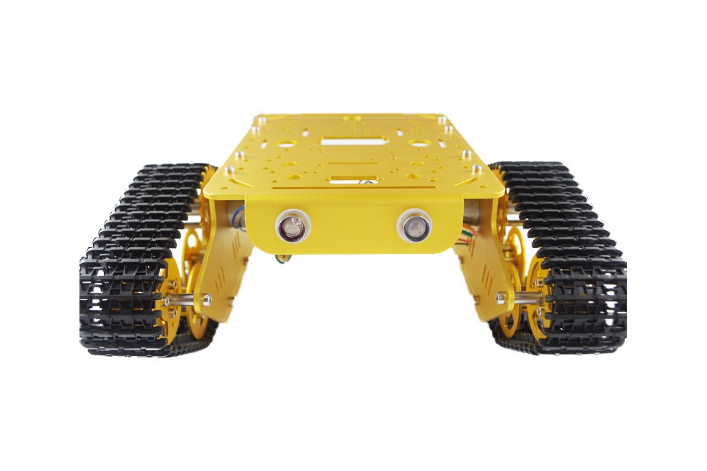 T300 Aluminum Alloy Metal Tracked Tank chassis  4
