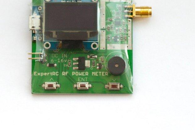 RF Power Meter 27 -  5800 mhz arduino ad8319 FPV