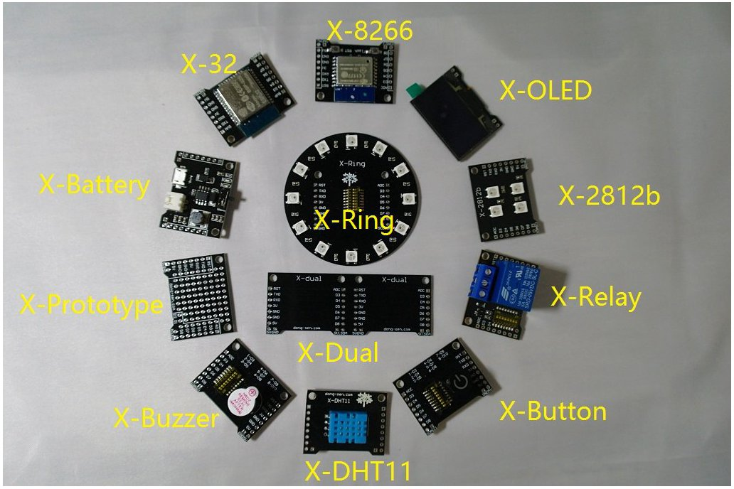 X-Project Starter Kit(ESP8266&ESP32) 2