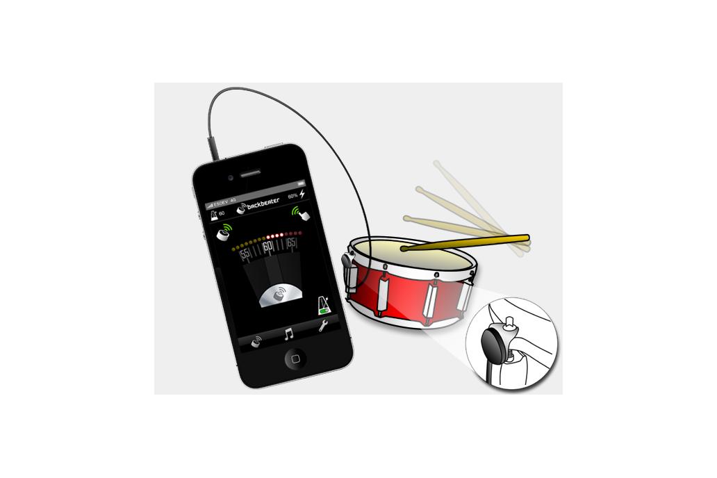 Backbeater Sensor for iPhones 1