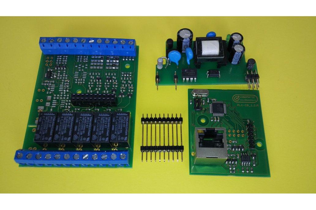 Pragmatic_S, Atmega328 based, PLC/Smart Interface
