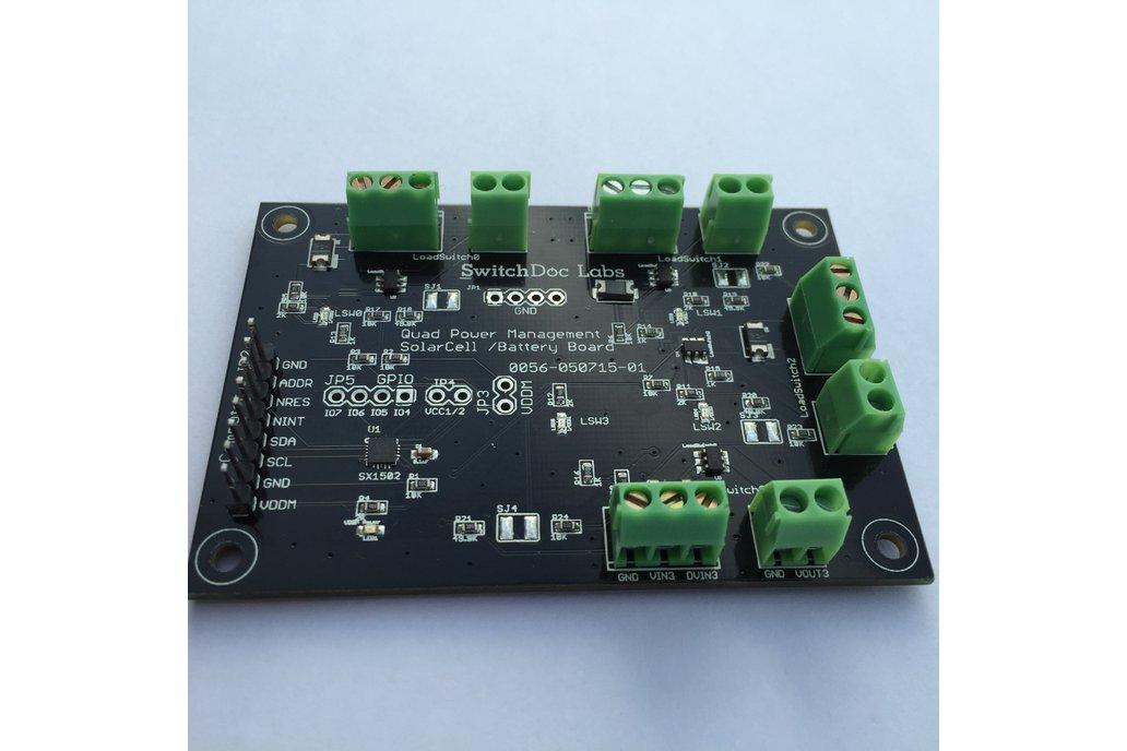 Quad Power Management I2C Breakout Board 1