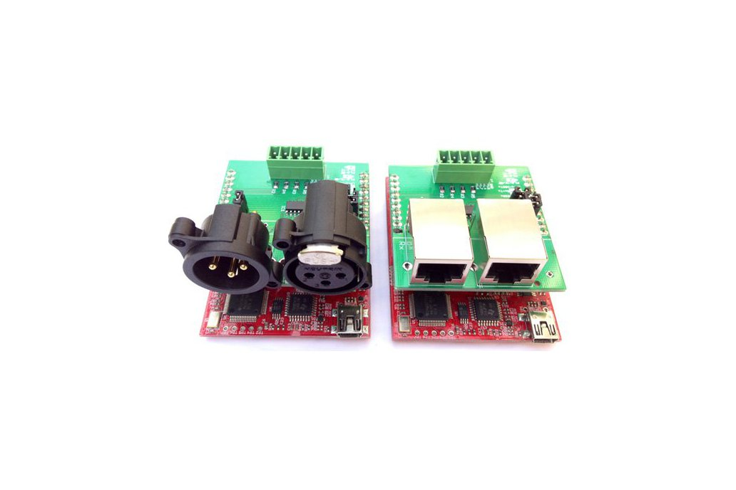 DMX RS-485 Booster Pack PCB 1