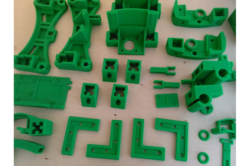 Reprap Wilson II plastic parts kit 1