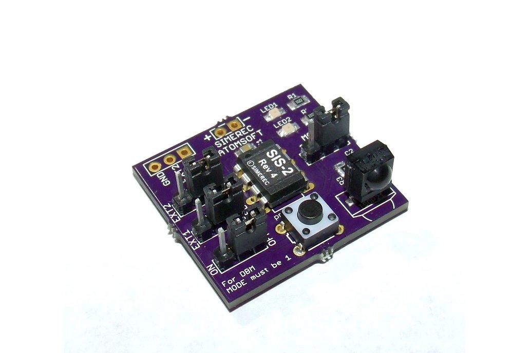 SIS-2 Universal IR Remote Control Dev Board 2