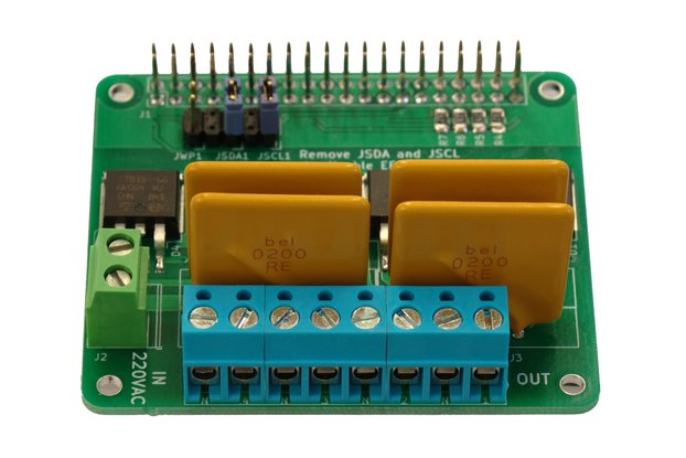 Quad Opto-TRIAC HAT