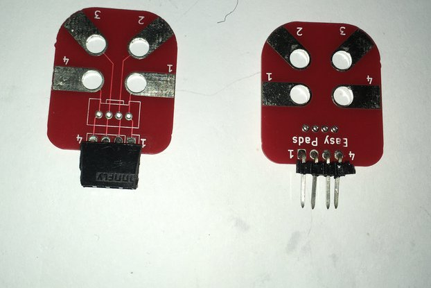 Arduino breadbordless prototyping pads