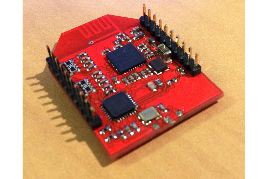 Spread spectrum (DSMX!) module on Xbee footprint 1