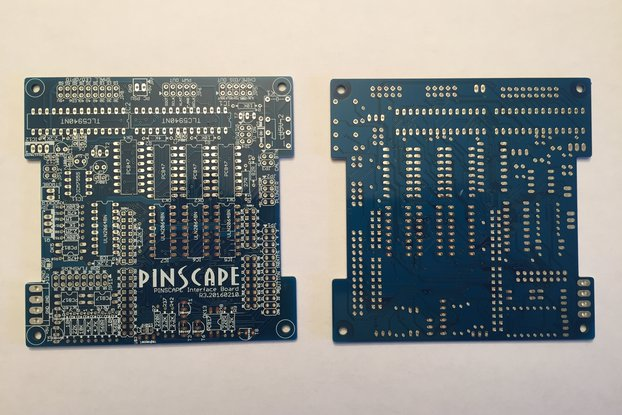 Pinscape interface board, bare PCB