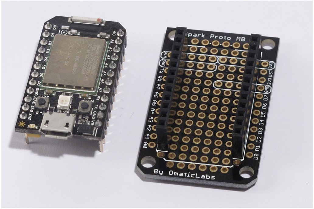 Protoboard for SparkCore 4
