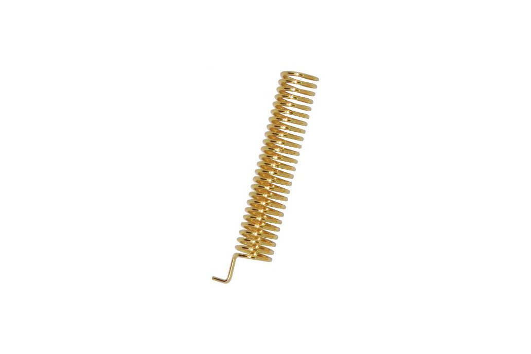 SW433-TH22 Gold plated spring antenna 1
