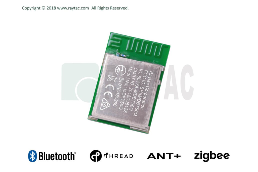 nRF52833 Modue BT5.2 Raytac MDBT50Q (42 GPIO) 1