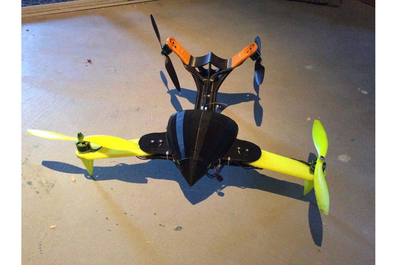 525mm V-Tail Multicopter Robotics Platform Drone
