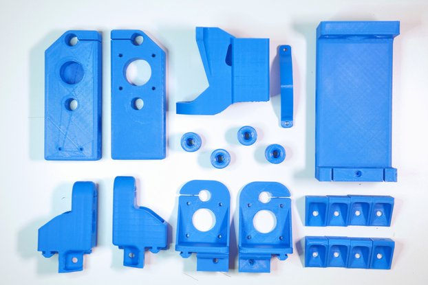 3D Printed Parts For Dremel CNC