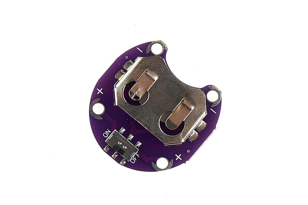 LilyPad Coin Cell CR2032 Battery Holder 1