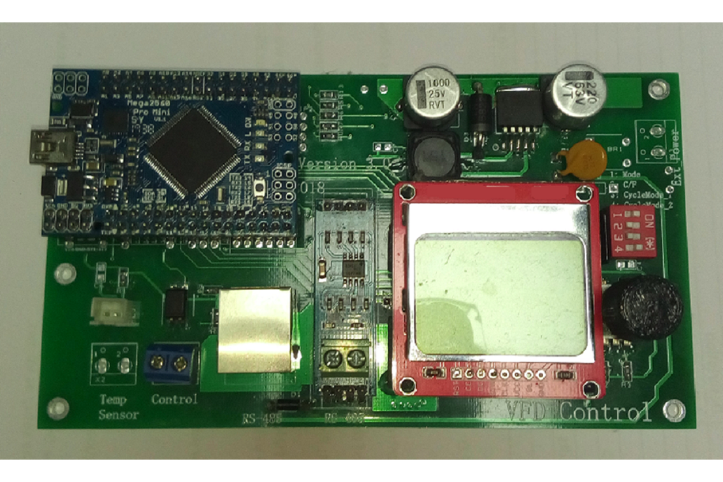 RS485 Variable Frequency Drive Controller. 1