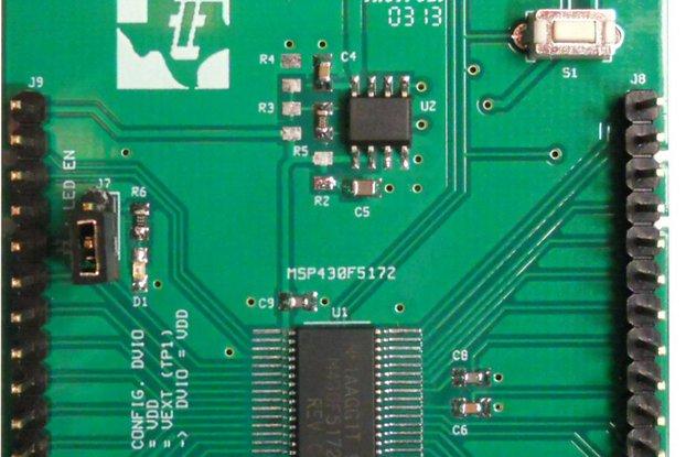 TI MSP430F5172 Development SchmartModule