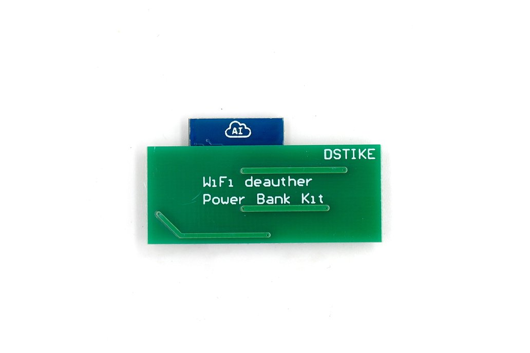 DSTIKE Deauther Power Bank Controller 4