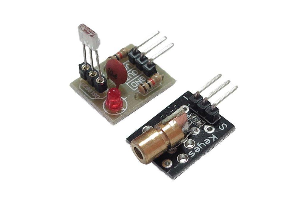 KY-008 Laser x Laser Detector 1