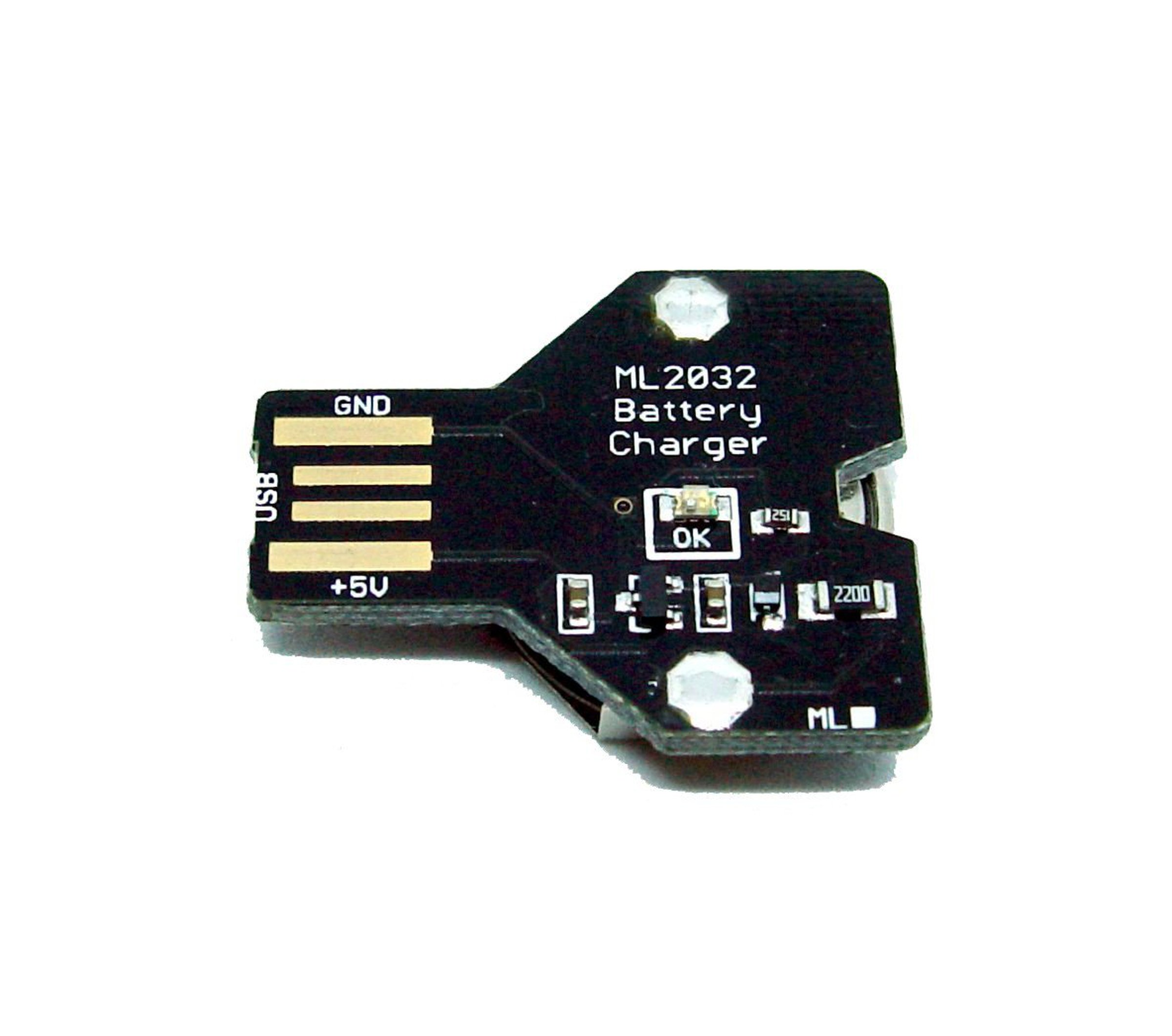 Usb Lithium Coin Cell Battery Charger Ml2032 From Pemi Technology On Simple And Utility Circuit Powersupply 1