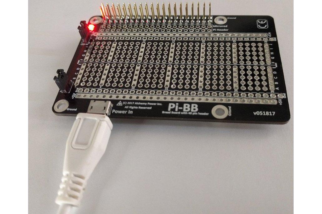 Pi-BB - breadboard for the Raspberry Pi 1