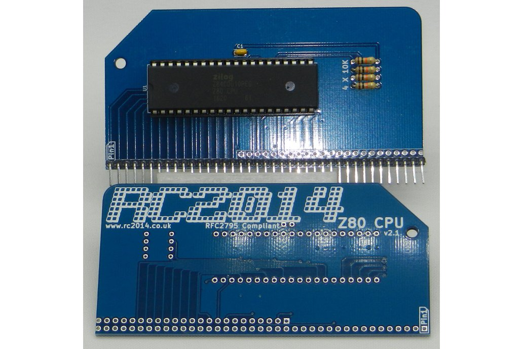 RC2014 Plus - Homebrew Z80 Computer Kit 8