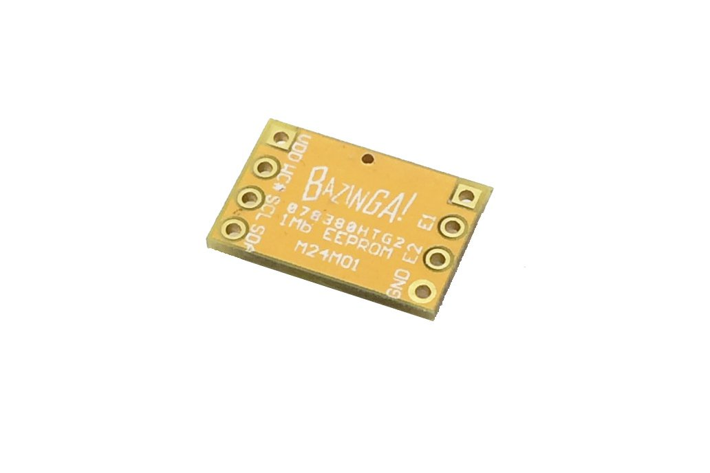 STMicroelectronics M24M01 1Mbits EEPROM breakout 2